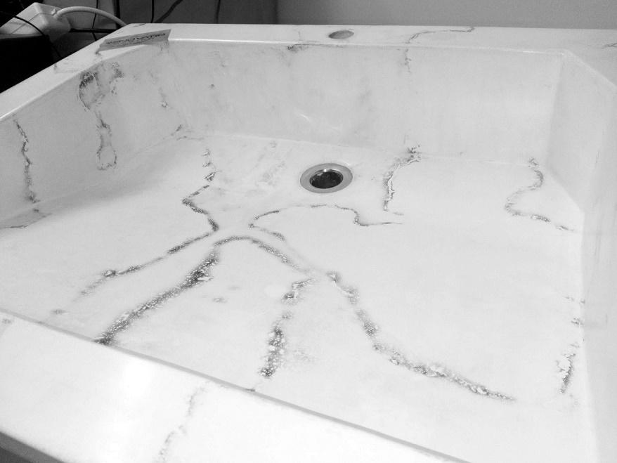 "GFRC Concrete Sink ""Olympus"""